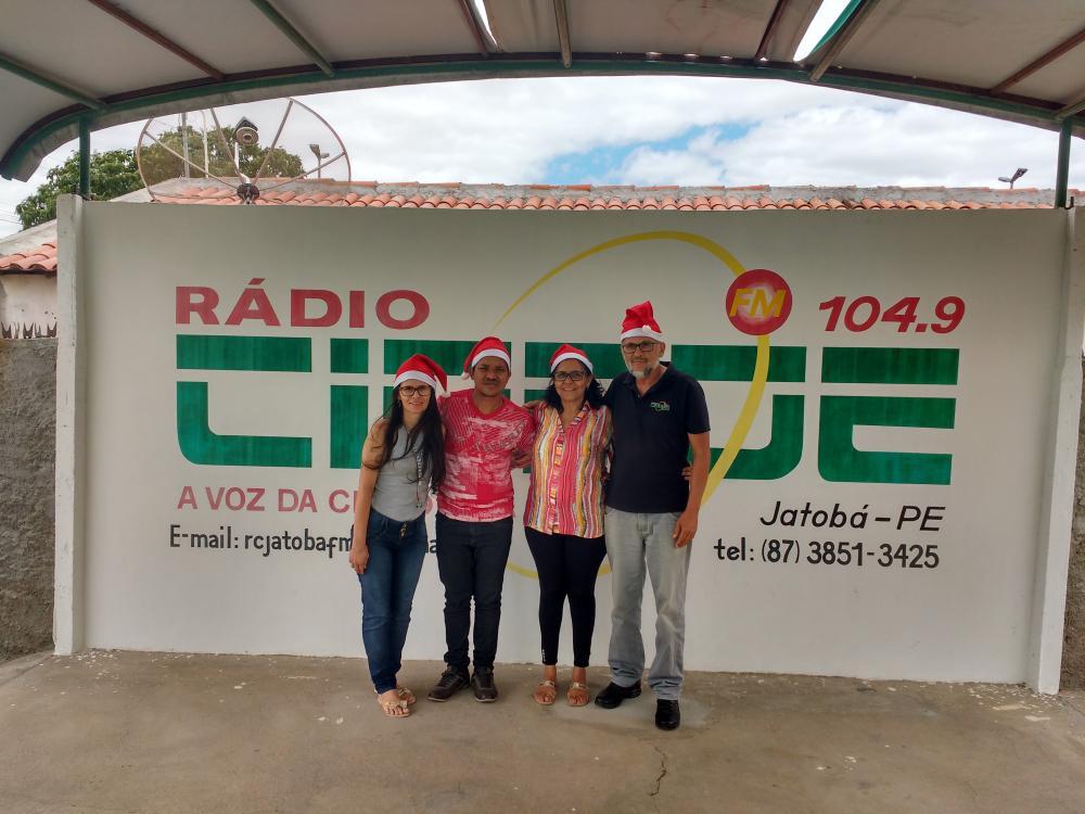 4º  NATAL PREMIADO DA RÁDIO CIDADE 104,9 FM JATOBÁ