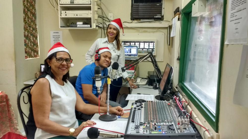 Equipe da Rádio Cidade Jatobá FM 104,9