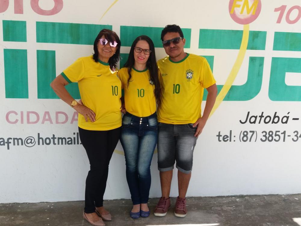 Copa do Brasil na Rádio Cidade Jatobá FM 104,9