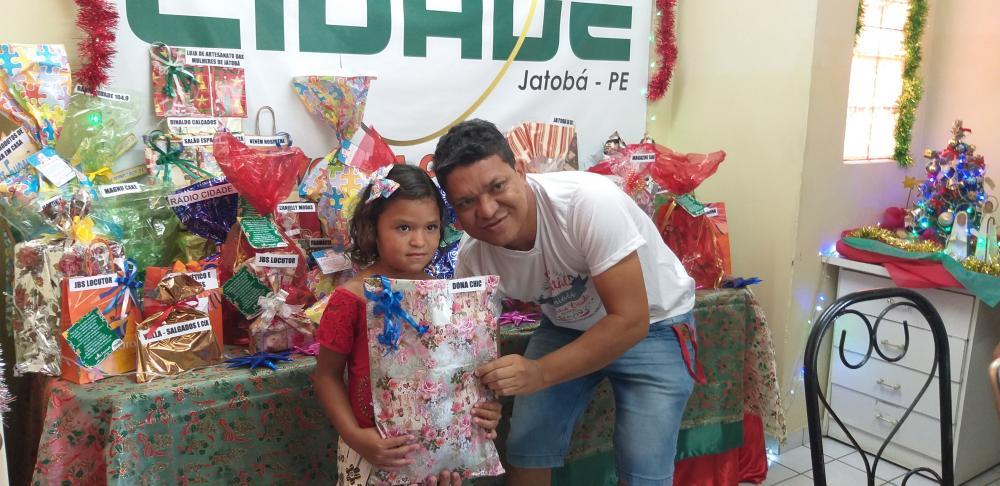 7º NATAL PREMIADO DA RÁDIO CIDADE JATOBÁ FM 104,9 SEGUNDA- FEIRA PRIMEIRO SORTEIO 16.12.19