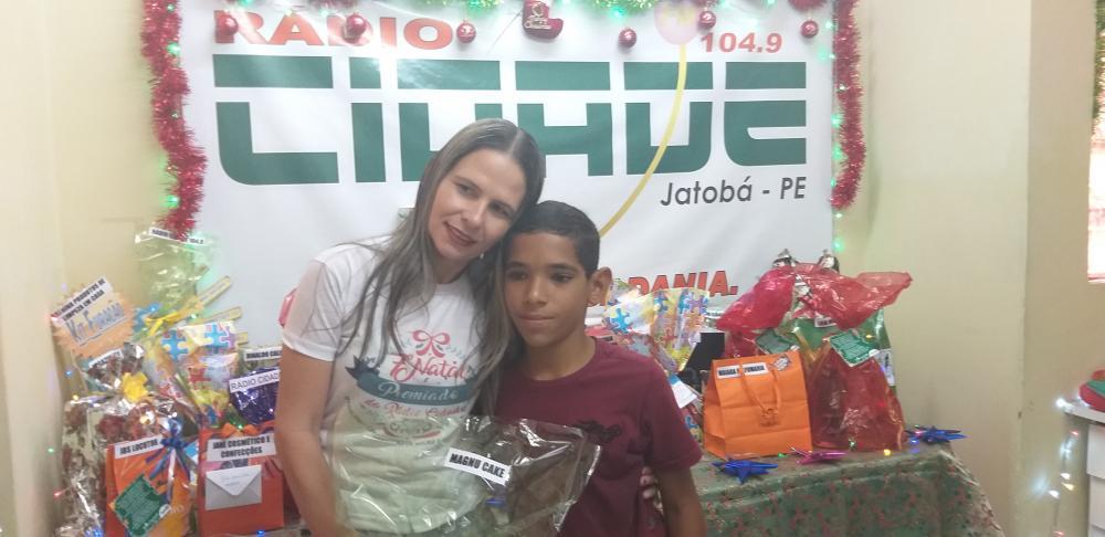 7º NATAL PREMIADO DA RÁDIO CIDADE JATOBÁ FM 104,9 TERÇA- FEIRA  SORTEIO 20.12.19