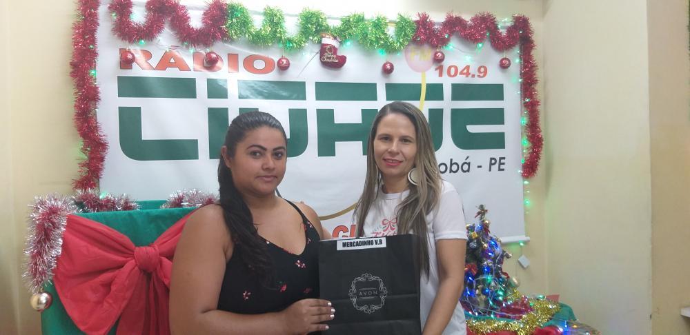 7º NATAL PREMIADO DA RÁDIO CIDADE JATOBÁ FM 104,9 SEGUNDA- FEIRA SEXTO  SORTEIO 23.12.19