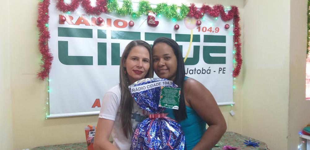 7º NATAL PREMIADO DA RÁDIO CIDADE JATOBÁ FM 104,9 TERÇA- FEIRA SÉTIMO SORTEIO 24.12.19