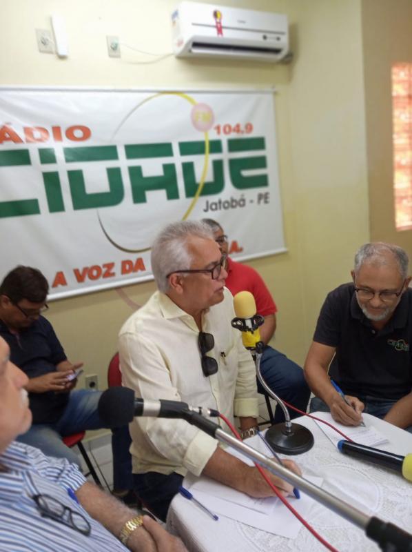 ENTREVISTA COM COORDENADOR NACIONAL PSL SOBRE AS ELEIÇÕES MUNICIPAIS DE JATOBÁ