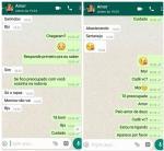 Namorado de jovem morta após oferecer carona por WhatsApp alertou por mensagem: 'Cuidado'