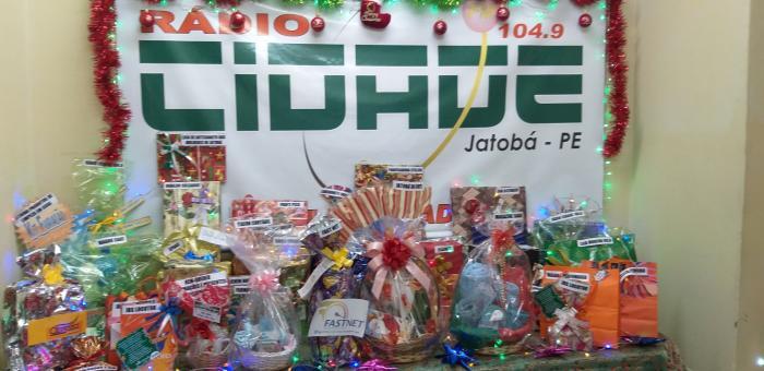 7º NATAL PREMIADO DA RÁDIO CIDADE JATOBÁ FM 104,9