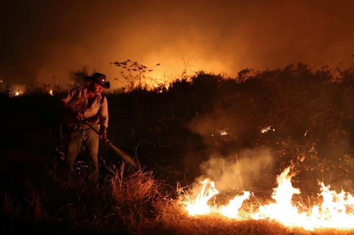 Pantanal tem mês de setembro com mais focos de incêndio na história
