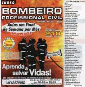 Curso de Bombeiro Profissional Civil - Jacarezinho