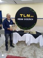 TLN- EMPRESA DE EVENTOS ENTREGA DE PRÊMIO EXCELÊNCIA AO DIRETOR PRESIDENTE DA RÁDIO SR. HAROLDO FERREIRA