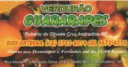 VERDUR�O GUARARAPES